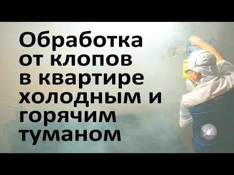 Обработка московской квартиры от клопов холодным и горячим туманом