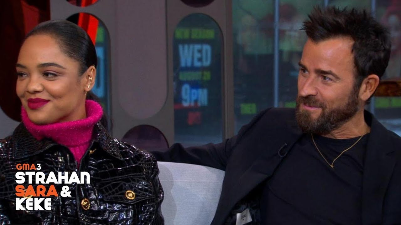 Download Justin Theroux and Tessa Thompson Make These Dogs Talk