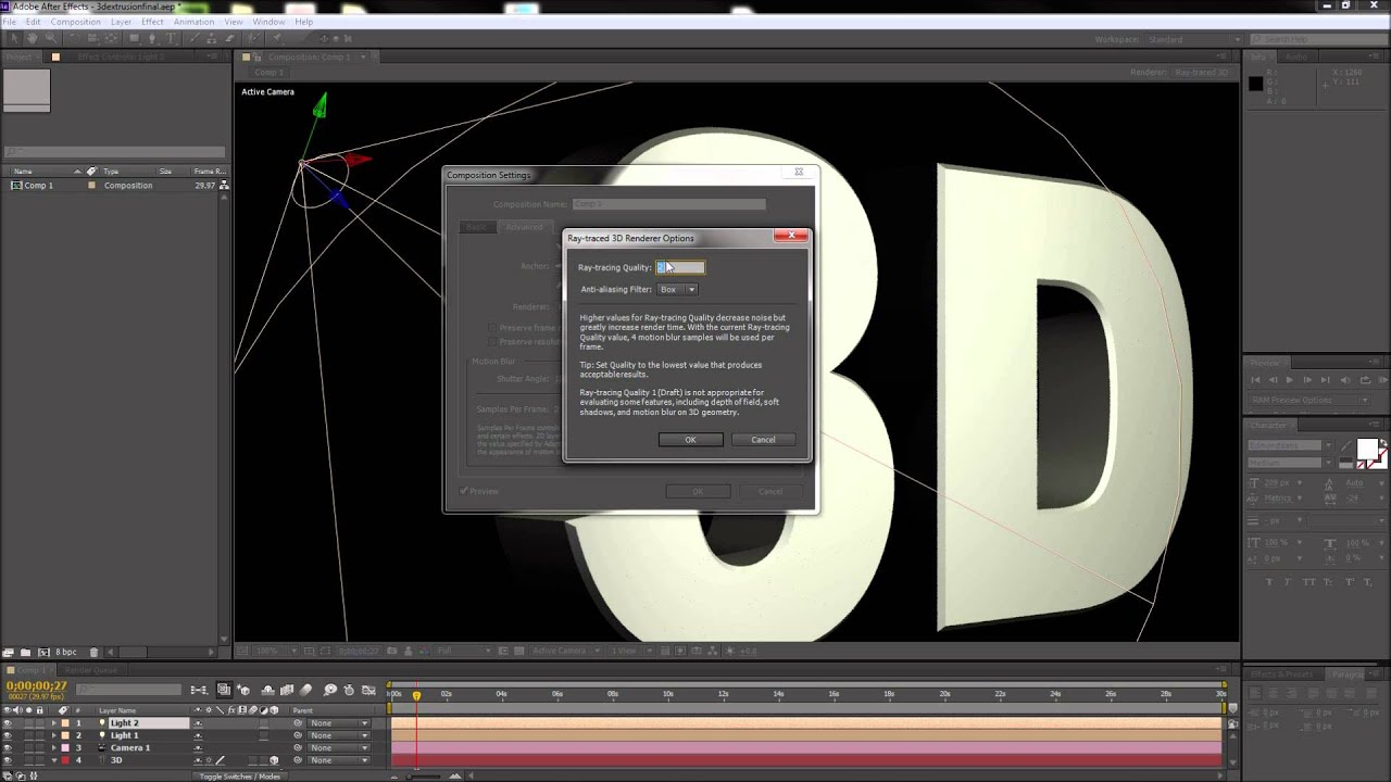 How to Render/Export in Adobe After Effects CC (2017 ...