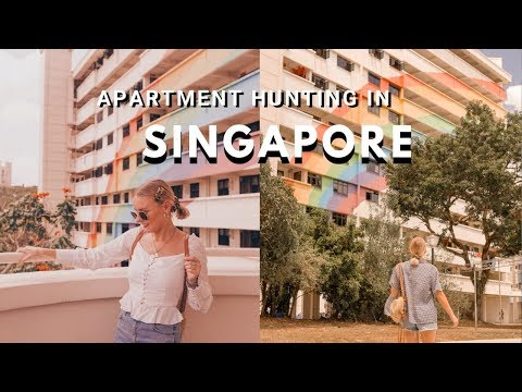 APARTMENT HUNTING IN SINGAPORE! 🇸🇬 WEEKLY VLOG