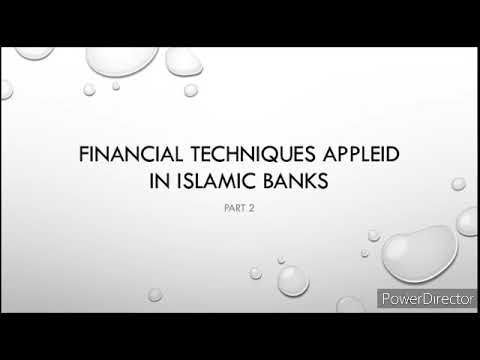 Financial techniques - Savings Deposits in islamic bank prt2