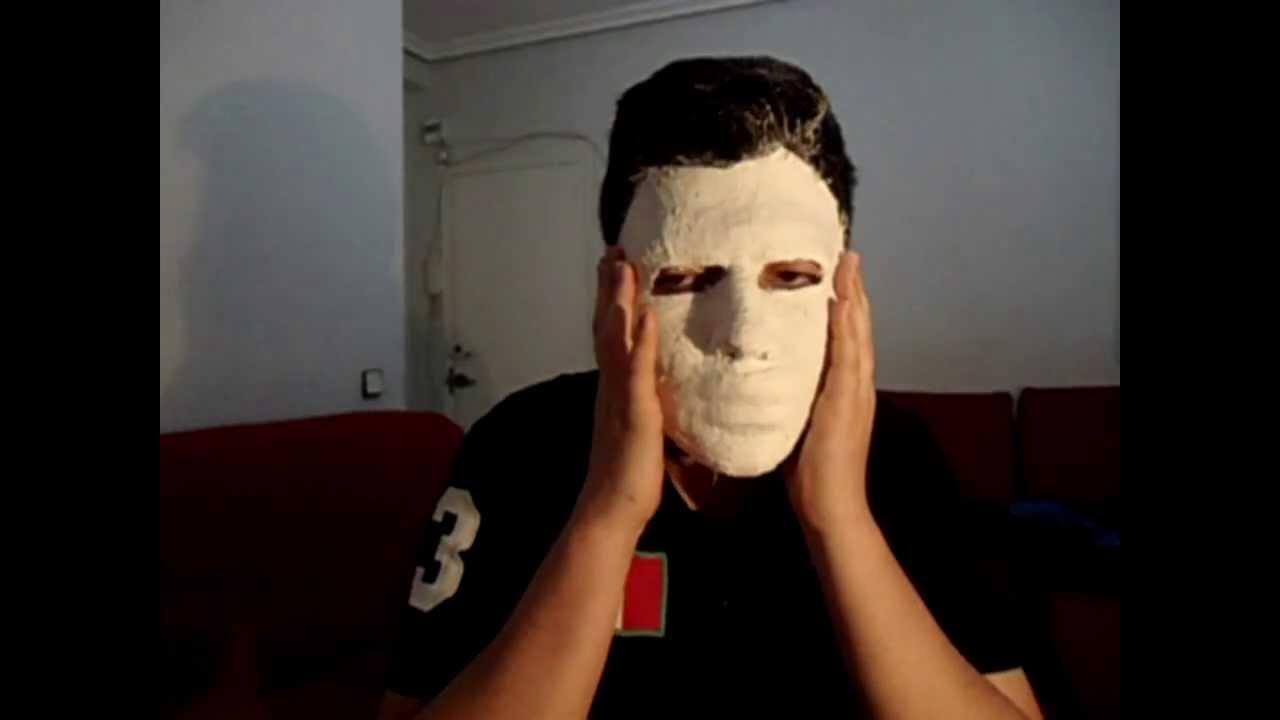 como hacer mascara de yeso |tutorial| - youtube