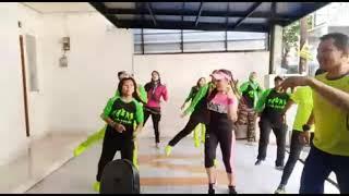 Haning Lagu Dayak Kreasi Senam Joged Dangdut Fun