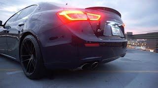 Maserati Ghibli S Q4 Sport Exhaust