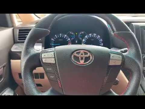 Repeat The 2008 Toyota Vellfire full Option Carbon Interior