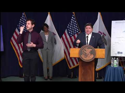 Coronavirus Illinois   Gov. JB Pritzker to extend Illinois stay-at-home order at COVID-19 briefing