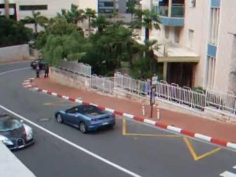 Voitures de luxe à Monaco