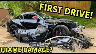 Rebuilding A Wrecked 2020 Toyota Supra Part 3