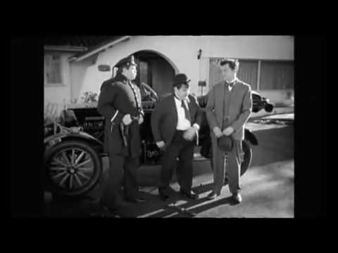 Laurel and Hardy rare unseen footage from The  National Film Archive