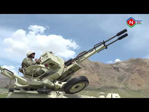 """Naxçıvan Qarnizonunda """"Ən yaxşı zenit-raket artilleriya batareyası"""" yarışı keçirilib - 14.05.2019"""
