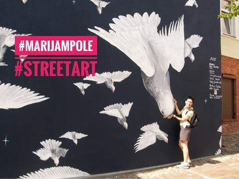 Street Art in Marijampole | Traveling in Lithuania | Vlog #9