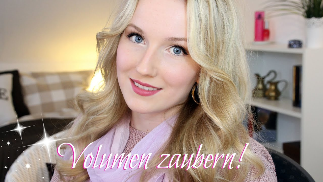 feine haare ad i volumen zaubern by thebeauty2go youtube. Black Bedroom Furniture Sets. Home Design Ideas