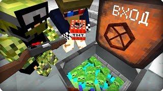 У нас нет выхода [ЧАСТЬ 57] Зомби апокалипсис в майнкрафт! - (Minecraft - Сериал)