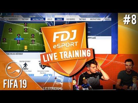 Les Conseils De PSG DaXe Pour Progresser Sur FIFA 19 - FDJ Live Training #8