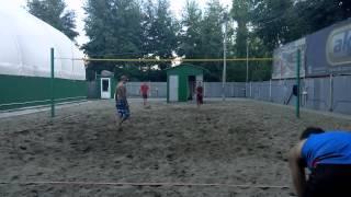Пляжный волейбол. Тренировка