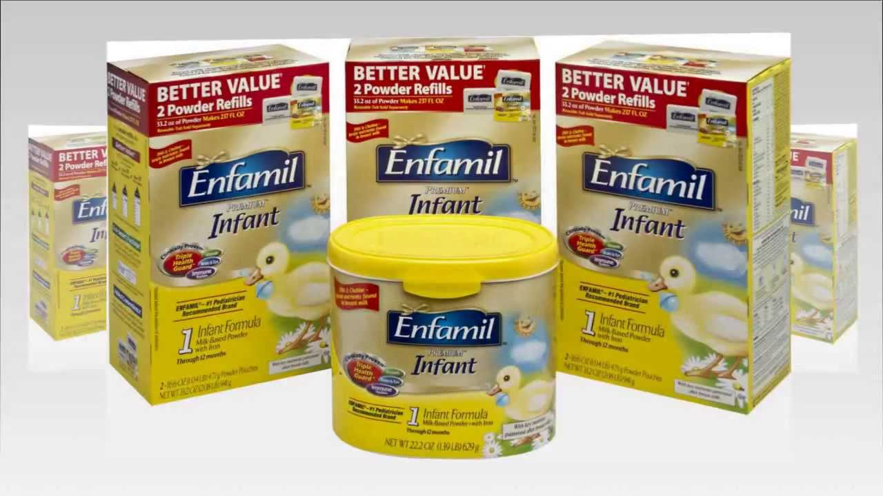 Enfamil Premium Infant Formula Powder Youtube