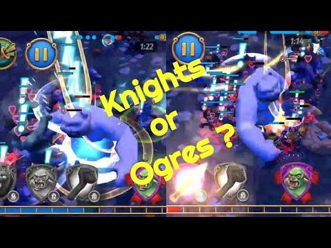 Royal Revolt 2 - How To Kill Phoebe Beast Faster ( Knights Vs Ogres )