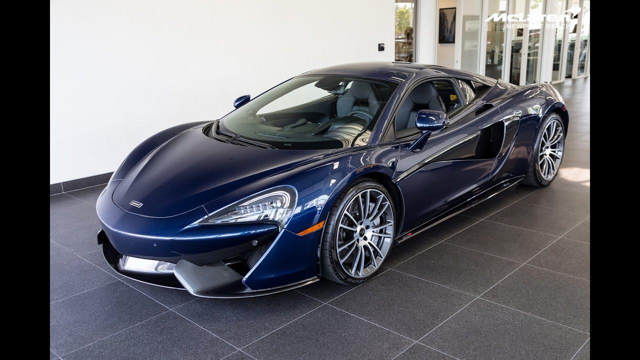 """2017 """"Blue"""" McLaren 570S Coupe"""