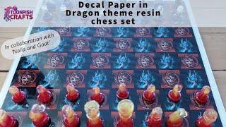 Dragon Theme Resin Chess set  -A collab with Nalla \u0026 Goat