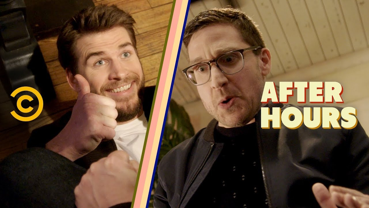 Liam Hemsworth Isn't Helping on This Date - After Hours with Josh Horowitz