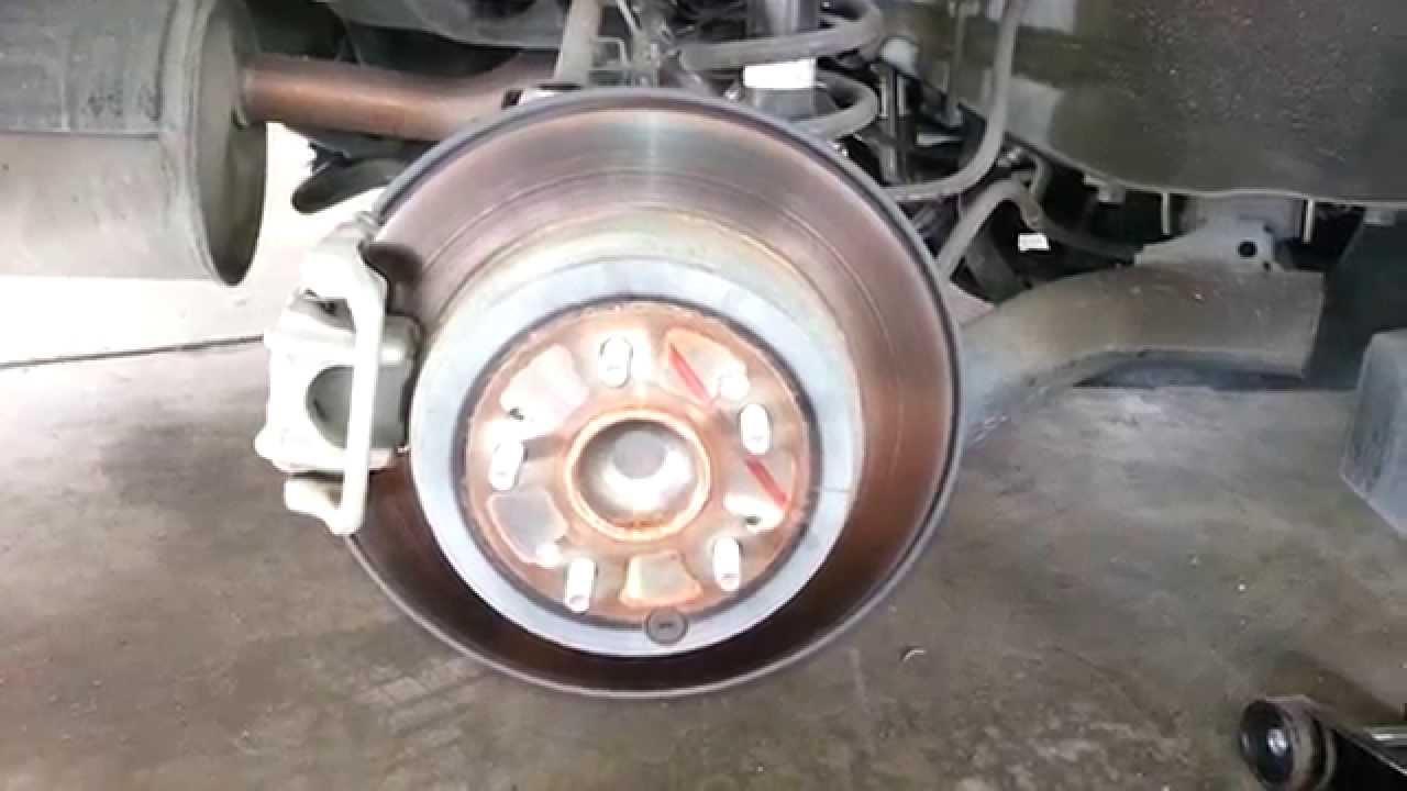 2011 Honda Cr V Rear Brake Caliper Bracket Amp Rotor