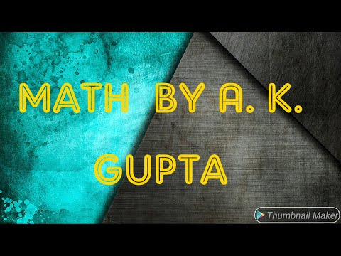 Percentage Part-2 By A.K.Gupta