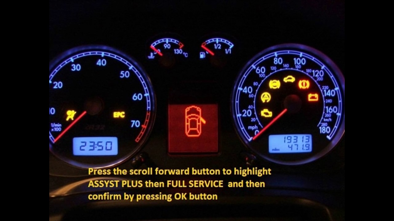 Jeep Grand Cherokee 2008 2012 How To Reset Service Light