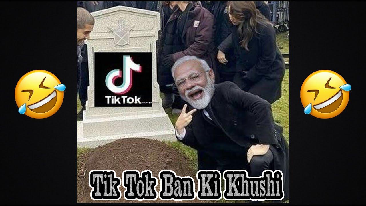 Tik Tok Ban ki Khushi😂😂 || Tik Tok Roast || Tik Tok Ban || Political Masti ||