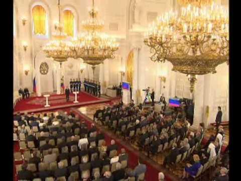 В.Путин.Церемонии вручения ГП РФ.12.06.07.Part 1