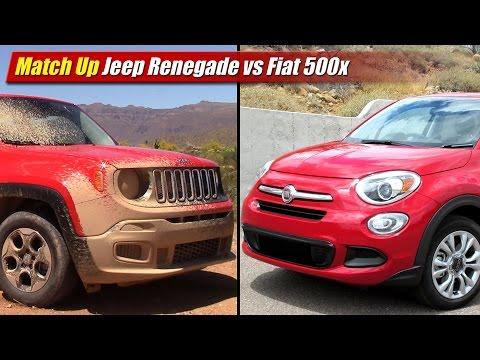 Fiat 500x vs jeep renegade vs dacia duster doovi for Hdmotori 500x