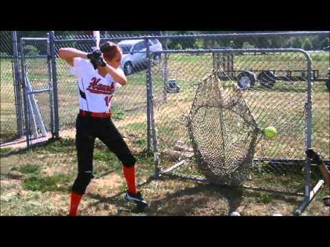 Kristen Tucker Softball Skills Video