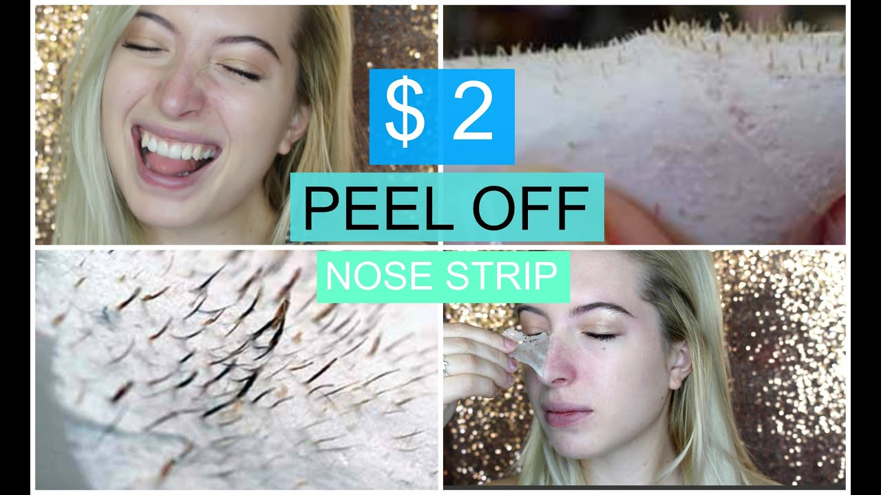 Diy 2 peel off nose strip best peel off mask removes - Masque peel off maison ...