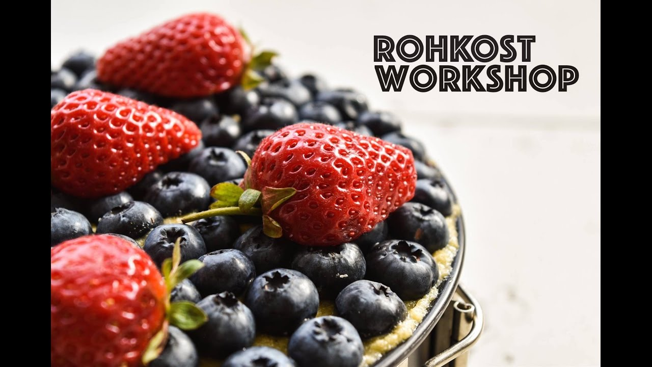 Rohkost WORKSHOP & POTLUCK im November!