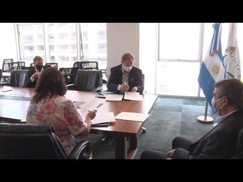 La Provincia y el Conicet firmaron un convenio de formación en recursos humanos