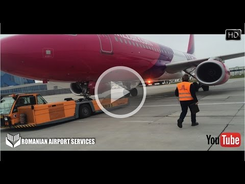 Romanian Airport Services OTOPENI Pushback