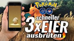 Pokemon Go Eier Trick! 3x SCHNELLER ausbrüten! [GERMAN HD]