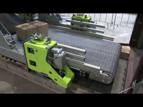 Parcel Robot PR 400 - 6 Axels Clamping Gripper