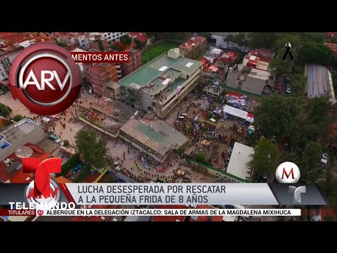 Frida es símbolo de esperanza tras terremoto | Al Rojo Vivo | Telemundo