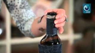 Мастер-класс по декору бутылки алкоголя к 23 февраля