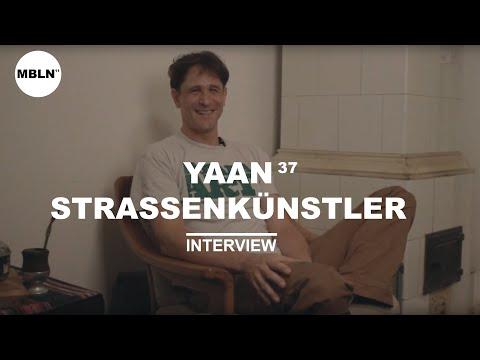 MEIN BERLIN - YAAN 37, STRASSENKÜNSTLER