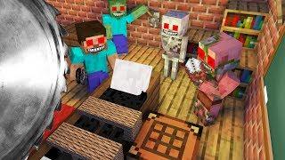 Monster School : RIP Slenderman - Minecraft Animation