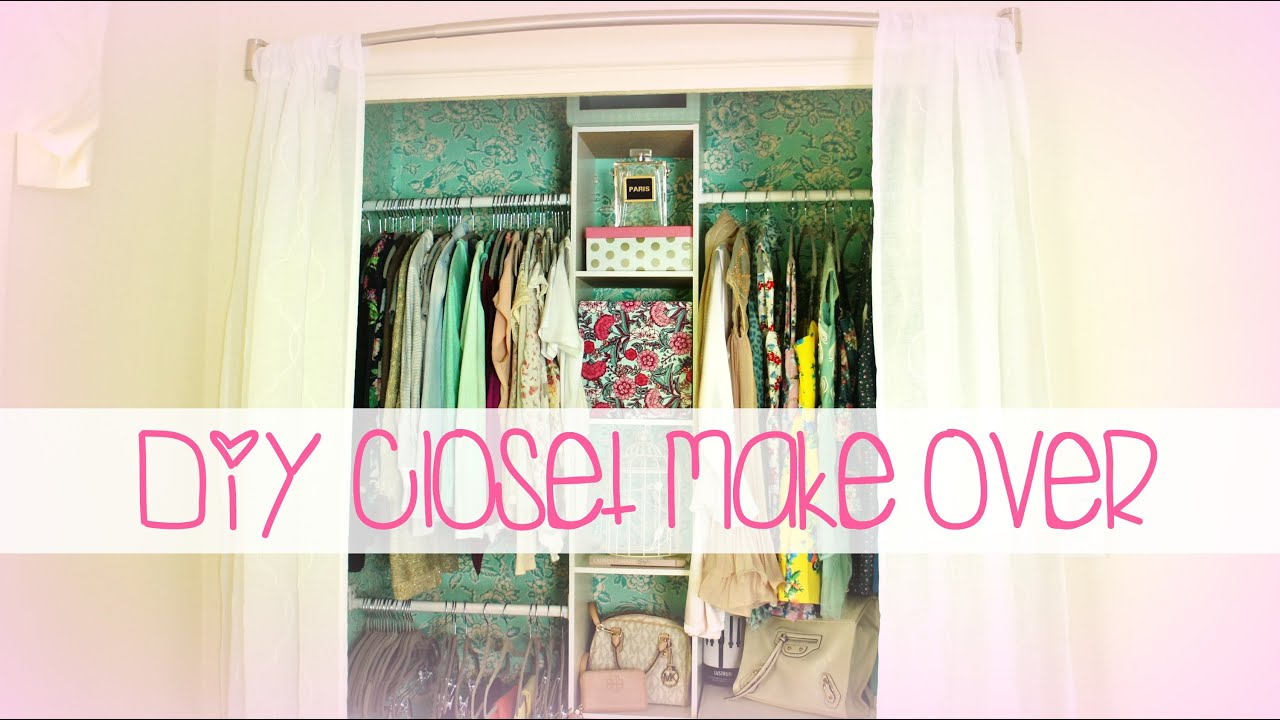Easy DIY Closet Make Over | Belinda Selene - YouTube
