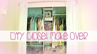 Easy Diy Closet Make Over | Belinda Selene