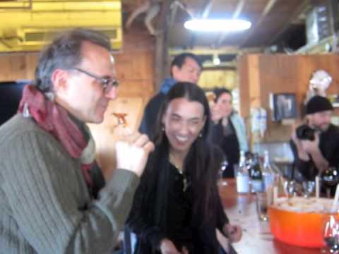 Massimo Bottura at the Cabane à Sucre Au Pied de Cochon