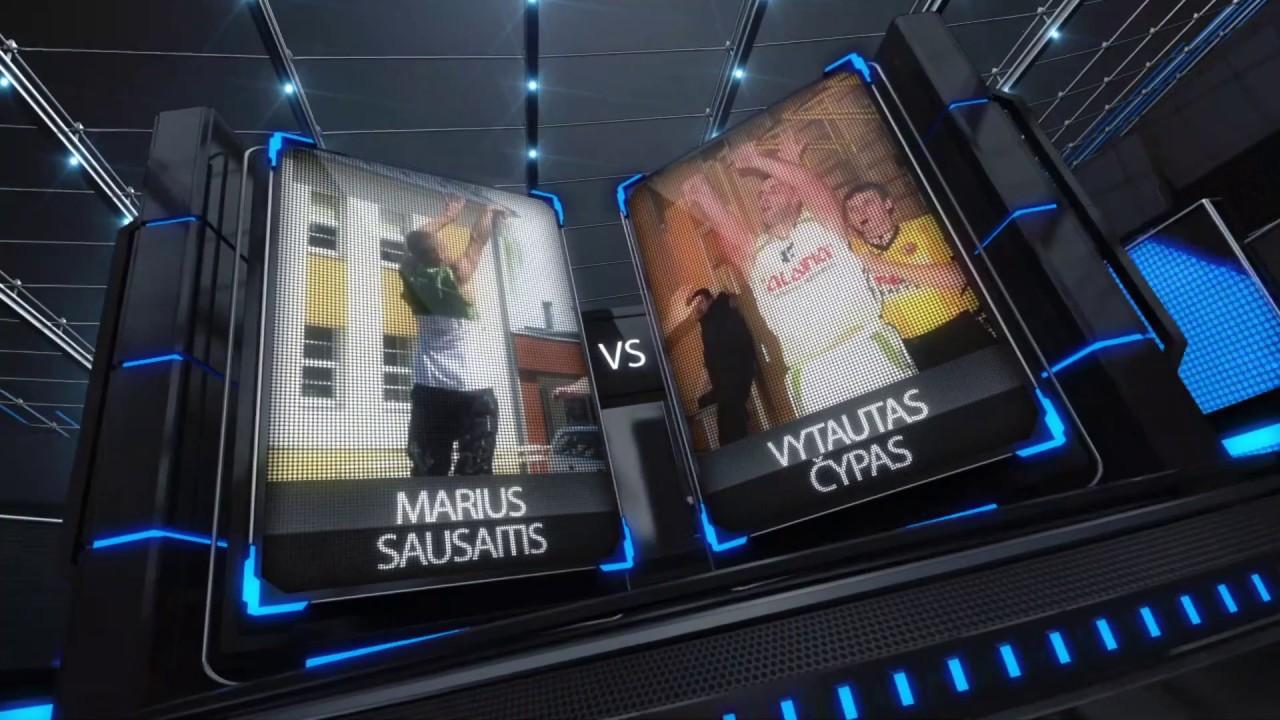 TOPsport Ghetto King 1x1: Marius Sausaitis vs Vytautas Čypas