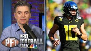 NFL Draft 2020: Will Justin Herbert get picked before Tua? | Pro Football Talk | NBC Sports