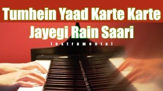 tumhein yaad karte karte-instrumental on keyboard