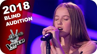 Frankie Goes To Hollỳwood - The Power Of Love (Jouline) | The Voice Kids 2018 | Blind Auditions