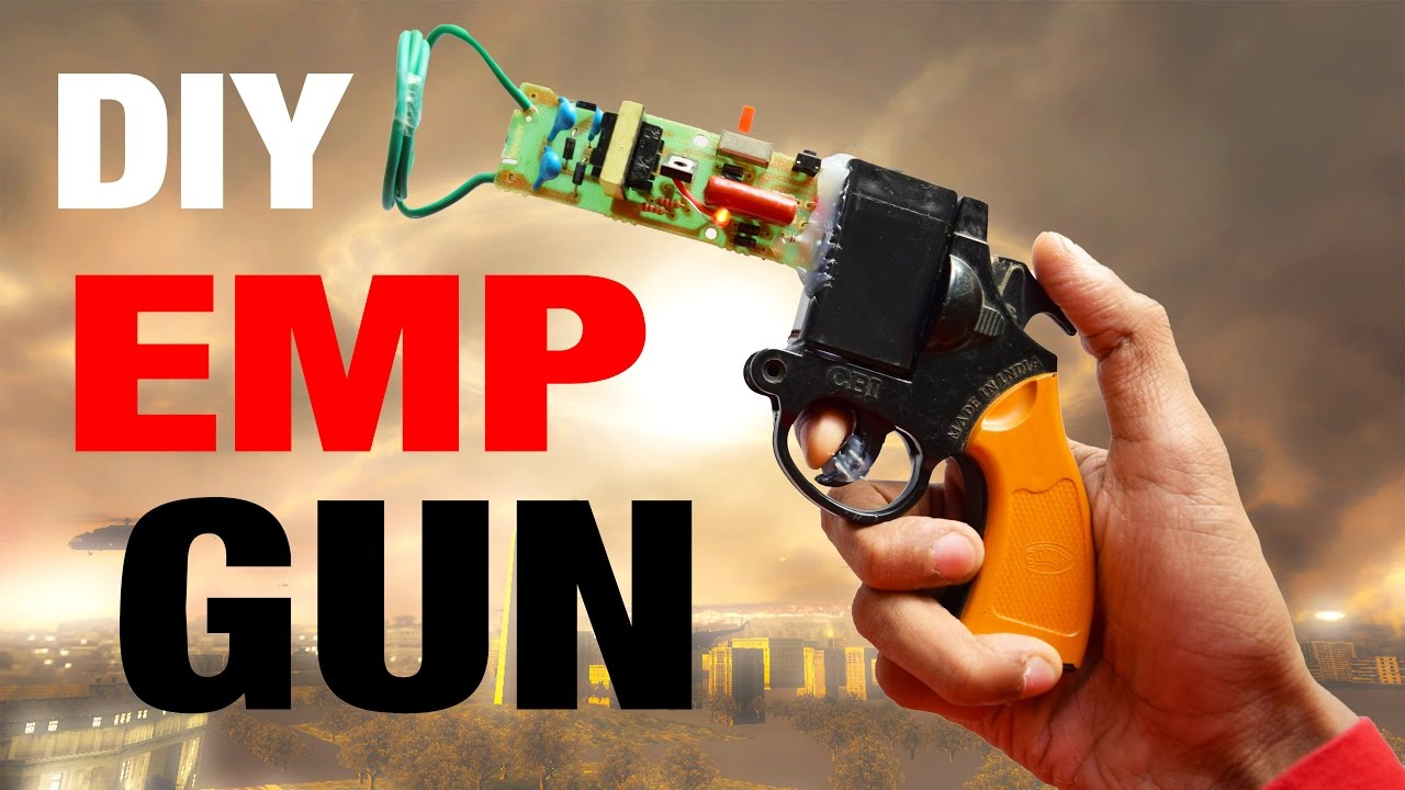 How To Make The Emp Ray Gun Mw2 Youtube