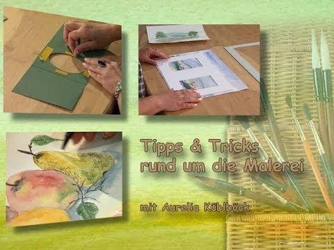 aquarellmalerei tipps tricks bilder aufwerten und versch nern youtube. Black Bedroom Furniture Sets. Home Design Ideas